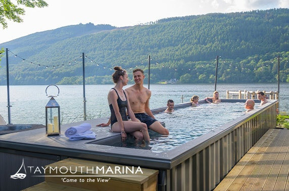 Taymouth Marina spa day for two