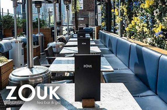 Zouk Tea Bar & Grill breakfast