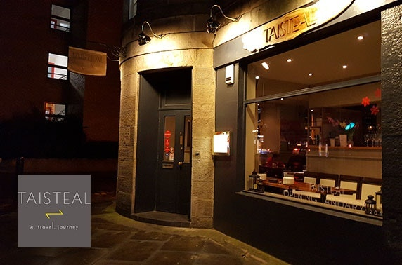 Fine dining at Michelin-recommended Taisteal, Stockbridge