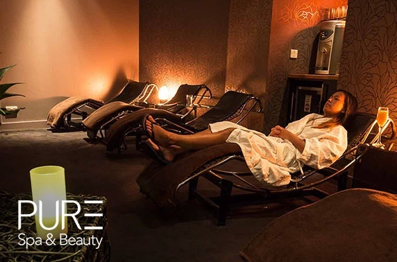 PURE Spa & Beauty pamper day, choice of Glasgow locations