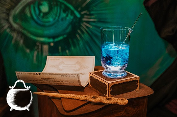 Cocktails or potions class, The Cauldron