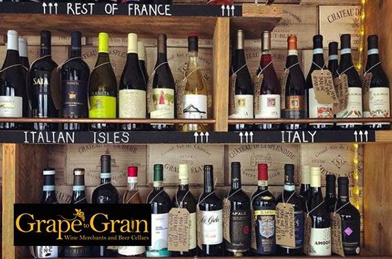 Grape to Grain voucher spend