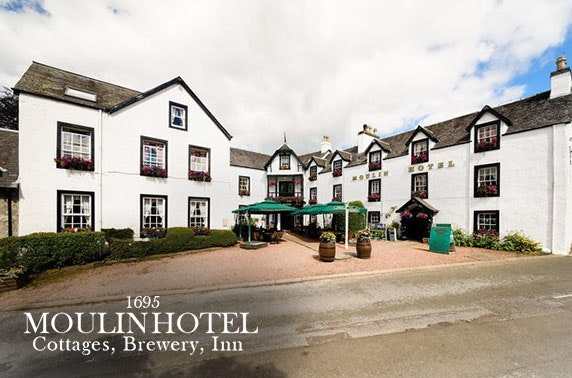 Pitlochry stay with Prosecco - from £65