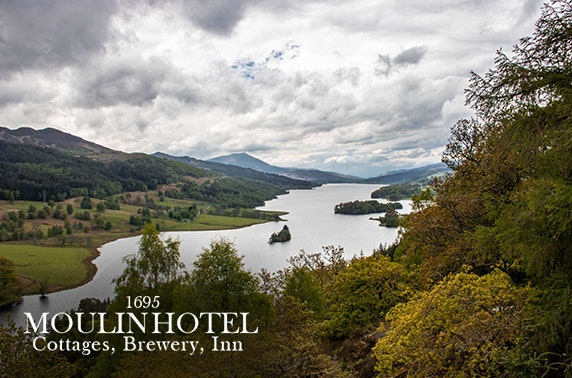 Pitlochry stay with cream tea and Prosecco - from £69