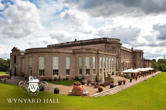 4* Wynyard Hall afternoon tea