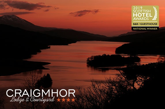 4* Craigmhor Lodge & Courtyard stay