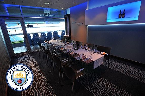 Do Champions League night in style at the Etihad Stadium