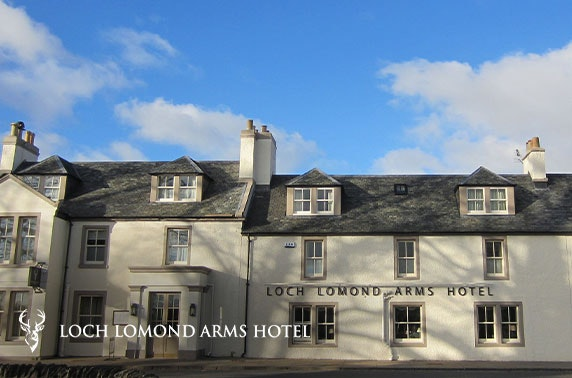 Award-winning Loch Lomond stay
