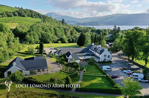 Award-winning Loch Lomond stay