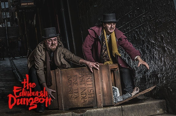 The Edinburgh Dungeon tickets
