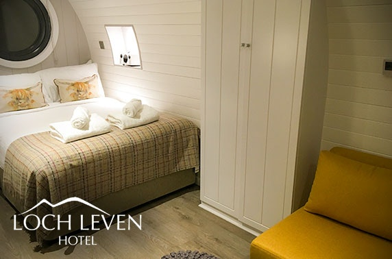 Loch Leven luxury pod stay - valid until Jan 2021!