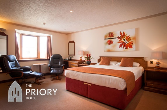 Priory Hotel Highland break; valid 7 days