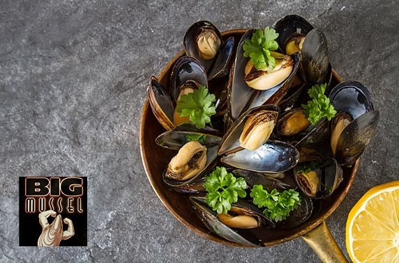 The Big Mussel dining, Quayside - valid until March 2021