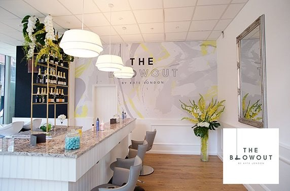 Treatments & Champagne at The Blowout by Kate London