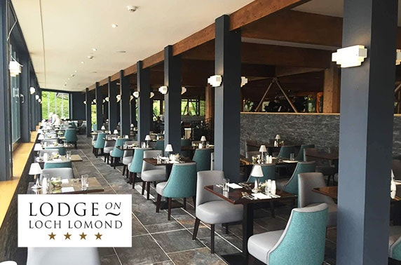 4* Lodge on Loch Lomond Suites stay