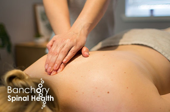 Banchory Spinal Health Clinic massage