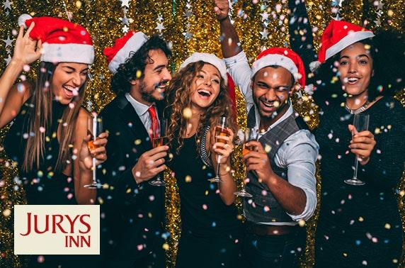 Christmas casino party night, Jurys Inn Edinburgh