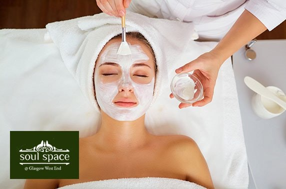 Massage & facial at Soul Space