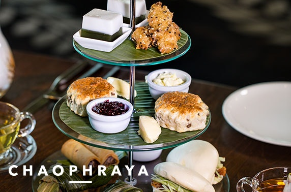Chaophraya Glasgow afternoon tea