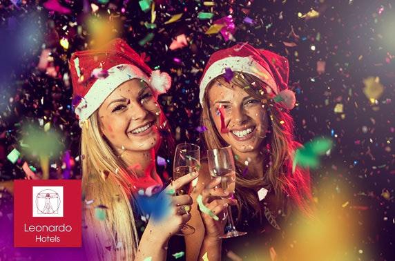 Christmas party night and optional stay, Leonardo Hotel Edinburgh