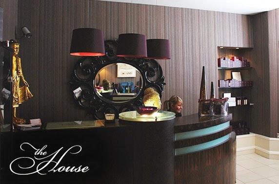 The House Spa beauty treatments, West End