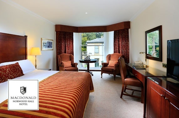 4* Macdonald Norwood Hall Hotel stay