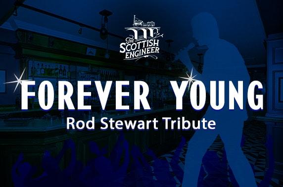 Rod Stewart tribute, The Scottish Engineer