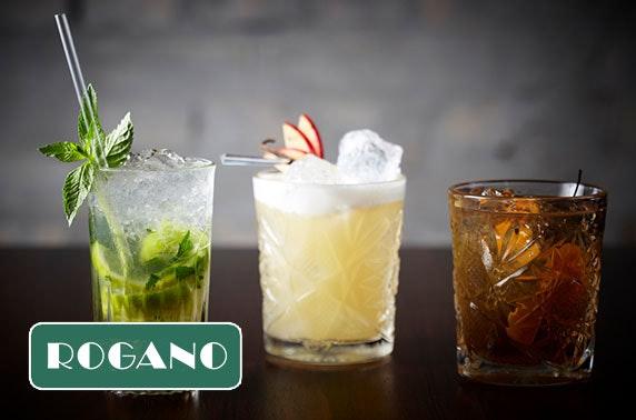 Rogano cocktails & sliders