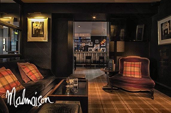 4* Malmaison Aberdeen stay
