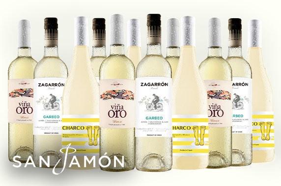 San Jamón Spanish wine cases