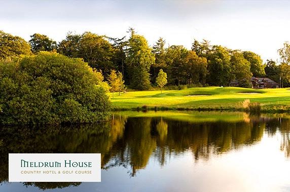 Award-winning 4* Meldrum House stay