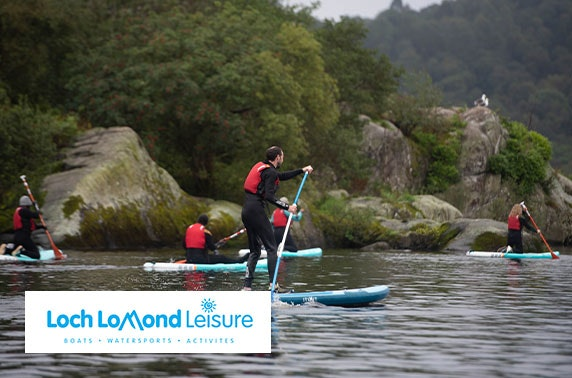 Loch Lomond paddle boarding