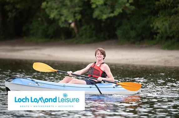 Loch Lomond Leisure kayaking, Rowardennan