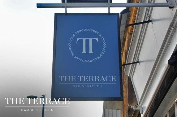 The Terrace Bar & Kitchen dining, Ayr