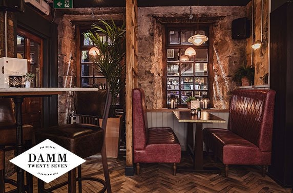 Cocktails or Prosecco at Damm27, Newington