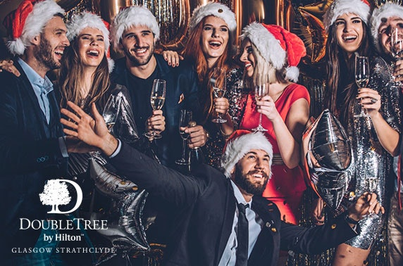 Christmas party night, DoubleTree by Hilton Hotel Strathclyde