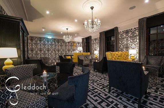 4* Gleddoch Hotel afternoon tea