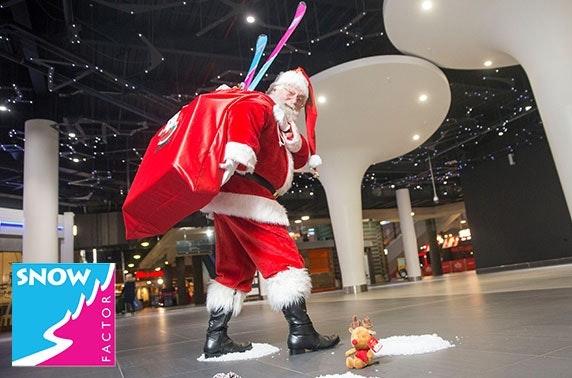 Santa experience at Snow Factor