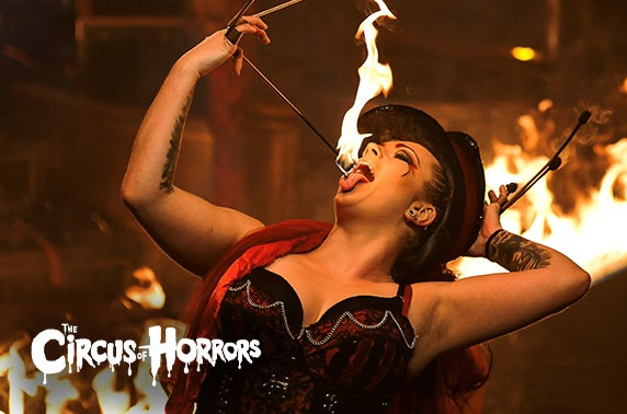 Circus of Horrors, choice of 2 locations