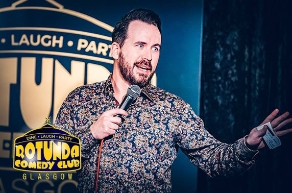 Rotunda Comedy Club tickets – from £5pp!
