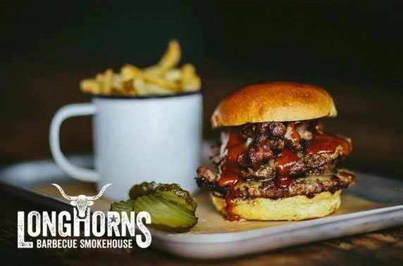 Longhorns Barbecue Smokehouse, burgers