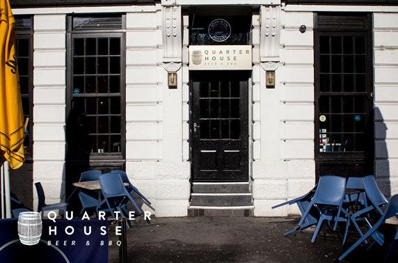 Brunch at Quarter House, Stevenson Square
