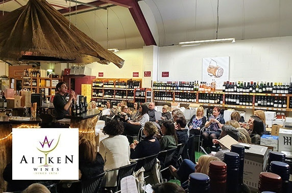 Champagne or gin masterclasses at Aitken Wines