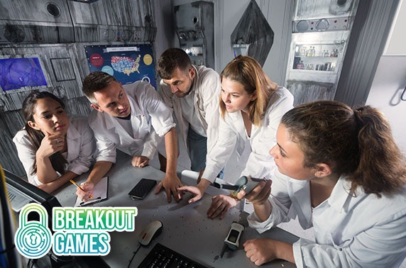 Breakout Games, City Centre - from £9pp