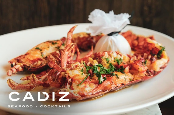 Seafood dining & drinks at Cadiz, George Street