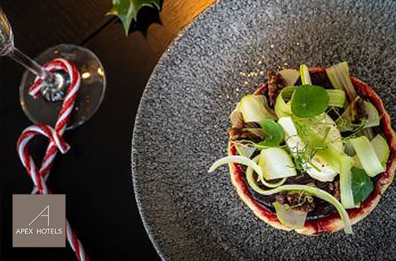 Festive dining at Apex City of Glasgow, City Centre