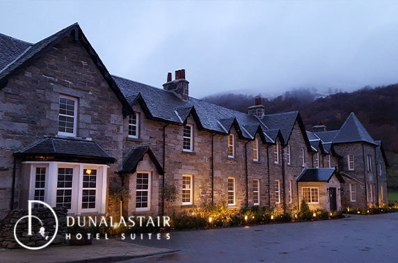 Award-winning 5* Dunalastair Hotel Suites luxury stay