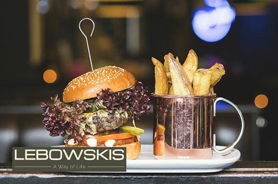 Lebowskis brunch - £10pp