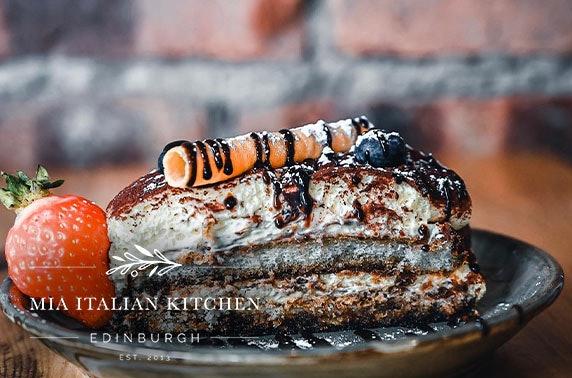 Mia Italian Kitchen food & drink voucher