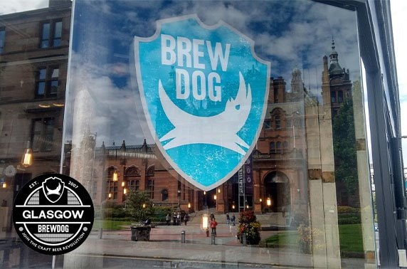 Brewdog Kelvingrove burgers and fries